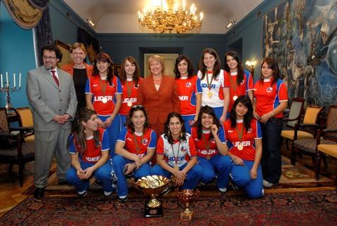 Las Heroinas con la Presidenta 2006
