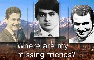 Mariano Turiel, Lenin Díaz, Marcelo Concha, donde están?