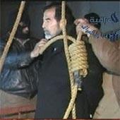Video del ahorcamiento de Sadam Husein