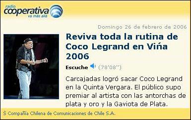 Coco Legrand - Viña-2006