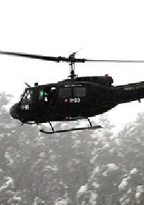 Helicoptero de la epoca