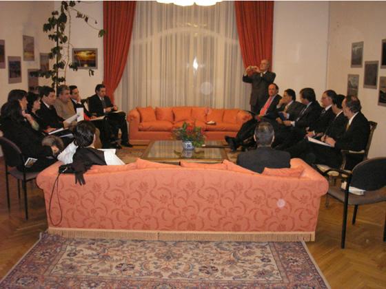 Reunión Asociación de Chilenos en Rusia con Parlamentarios Chilenos