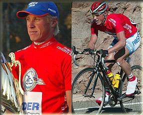 El ciclista Ruso Andrei Sartassov participa bajo bandera chilena