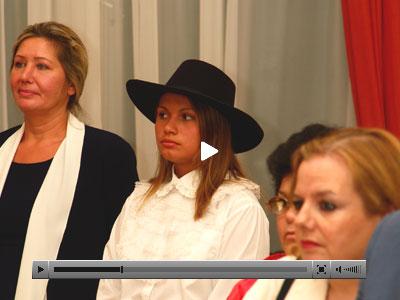 Vaya a los VIDEOS de las fiestas de los chilenos en Rusia.