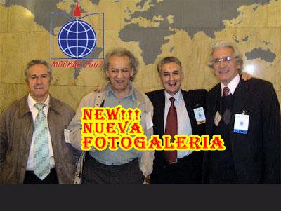 Representación chilena de izq. a derecha: Manuel Pincheira, Wile Salgado, Máximo Salinas y Sergio Lobos