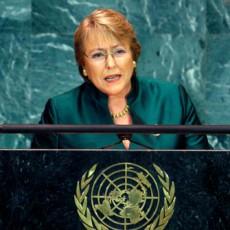 Michelle Bachelet - Secretyaria General de la ONU para la mujer