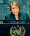 Michelle Bachelet fue nombrada secretaria general de la ONU (Agencia para la Mujer)