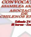 INVITACION A ASAMBLEA AMPLIADA DE LA COMUNIDAD CHILENA