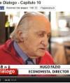HUGO FAZIO y GUSTAVO HASBUN dialogando en el El Mostrador TV
