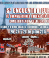 5° Encuentro Europeo de Organizaciones Chilenas en el Exterior