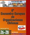 VI ENCUENTRO DE ORGANIZACIONES CHILENAS EN EUROPA